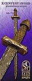 Espada de Combate medieval, s. X